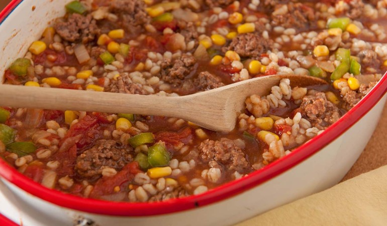 Barley and Beef Mulligan Stew