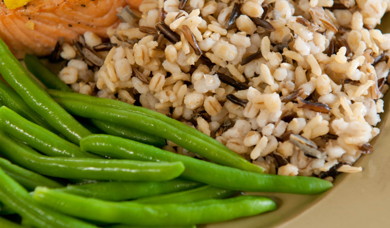 Quick 'N Easy Three Grain Pilaf