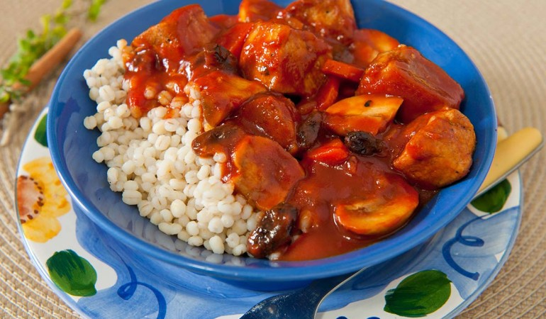 Rustic Italian Pork Stew with Barley