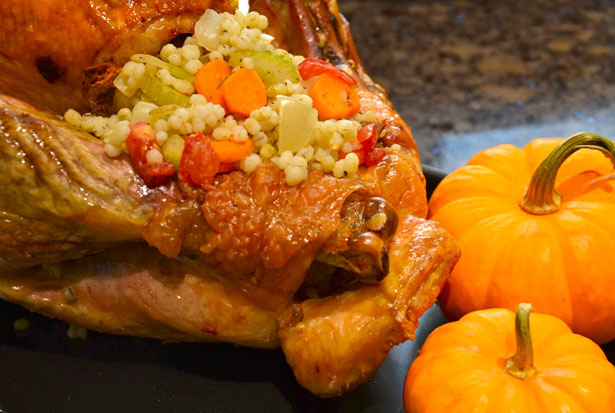 Traditional Turkey Stuffing with Barley